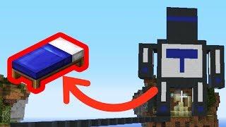 ГИГАНТСКИЙ ТЕРОСЕР ЗАЩИЩАЕТ МОЮ КРОВАТЬ НА БЕДВАРСЕ! Minecraft Bed Wars