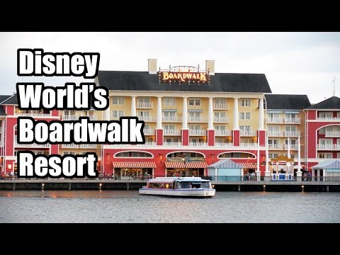 Walt Disney World Boardwalk Inn Resort Review - Pool, Dining, and more!
