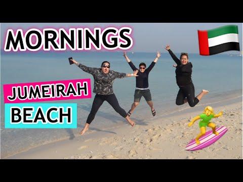 MORNINGS AT JUMEIRAH (KITE BEACH) || PAANO MANG CHECKOUT SI SACHI || IRISH AYZ (DUBAI VLOG)
