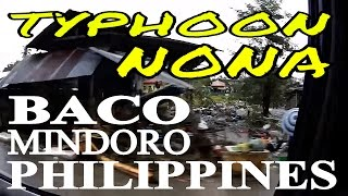BACO CALAPAN after typhoon NONA MELOR Oriental Min