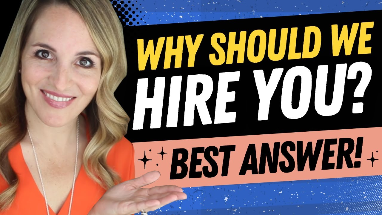why should we hire you The trouble is, if you answer the question why should we hire you with a standard, grovelly answer, you won't just hate yourself in the morning you won't make any impression on the interviewer.