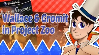 Wallace and Gromit in Project Zoo - Countdown Bleck