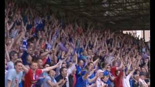 Rangers v Dundee Utd & Celebration