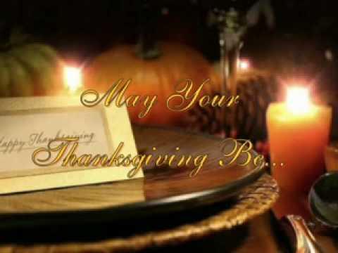 Thanksgiving greeting youtube thanksgiving greeting m4hsunfo