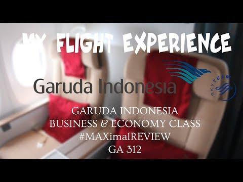 #MAXimal MY FLIGHT EXPERIENCE (FLIGHT REPORT) - E42 - GARUDA INDONESIA MAX BUSINESS CLASS