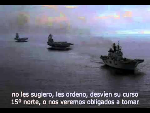 Flotilla americana y el A-853