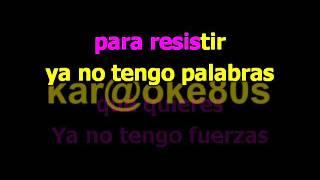 karaoke Ya No estilo Manuel C A R R A S C O