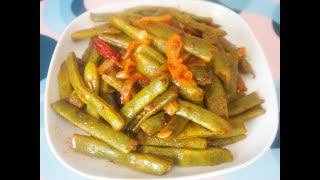 Стручковая фасоль с луком. Быстро, просто и вкусно! Green beans / Taze Fasulye Tarifi