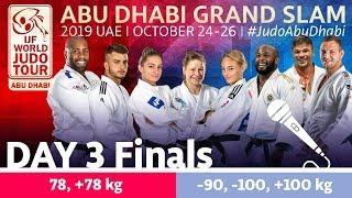 Judo Grand-Slam Abu Dhabi 2019: Day 3 - Final Block