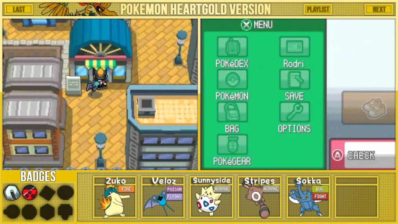 Let S Play Pokemon Heartgold Part 7 Goldenrod City