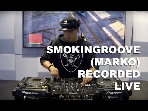 Smokingroove (Marko) - Freestyle DJ Mix Session #1 - Recorded Live in Dubai - December 2017