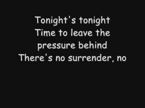 no surrender chords