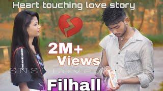 FILHALL | Heart Taouching Love Story | Me Kisi Or Ka Hu Filhall | Bpraak | Jaani | SNS Love Hits |