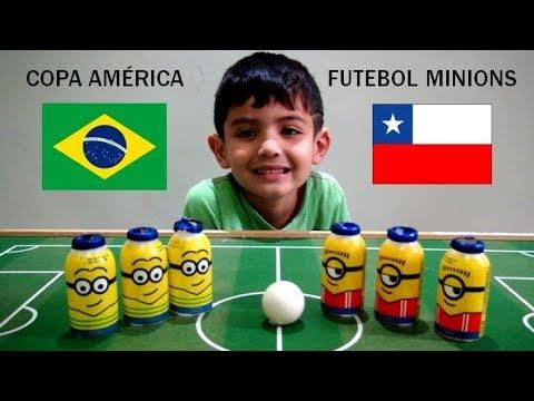 Canal do Gu ! - Brasil x Chile - Copa América de Futebol Minions
