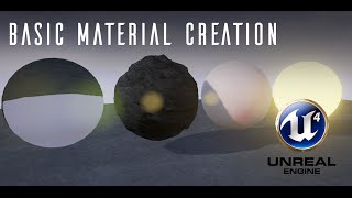 [TUTORIAL] Basic Material Creation in Unreal Engine 4 - Part 1