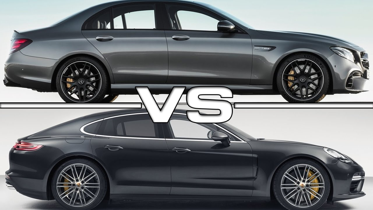 2017 Mercedes AMG E63 S Vs 2017 Porsche Panamera Turbo
