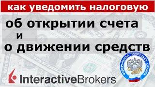 Отчет о движении средств и уведомление об открытии зарубежного брокерского счета. Инструкция
