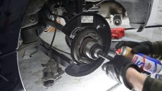 HOW TO BMW 1er 3er RADLAGER HA tauschen, reparieren / DIY Tutorial e90 e87