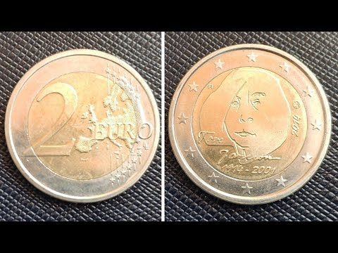 2 Euro 2014 (Tove Jansson) - Finland / 2 евро Финляндия (100 лет содня рождения ТувеЯнссон)