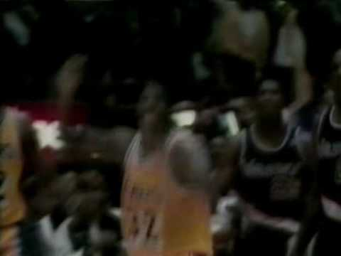 NBA Finals 1991 Chicago Bulls vs Los Angeles Lakers - Intro Game 1