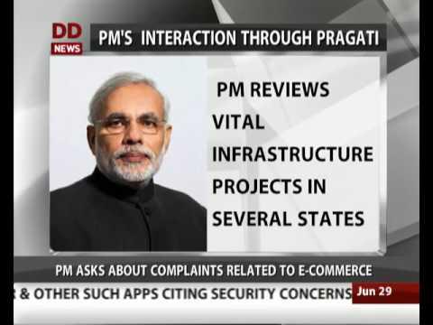 PM chairs 13th interaction through PRAGATI