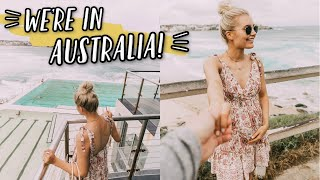 OUR FIRST TIME IN AUSTRALIA!