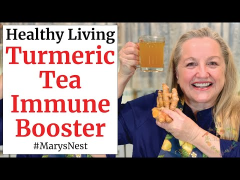 How to Make Turmeric Tea to Boost Your Immune System and Ward Off Colds and Flu - Use Powder or Root