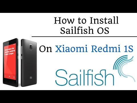 How to Install Sailfish OS On Redmi 1S