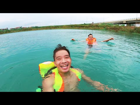 Đi Tắm Hồ Nước Xanh Ngọc | PHD Troll