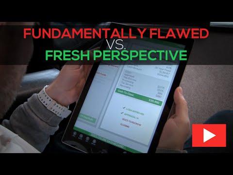 Fundamentally Flawed vs Fresh Perspective | TheREsource.tv | Loan Cost Estimate Worksheet Overhaul