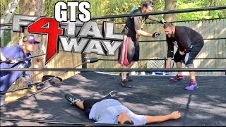 GTS FATAL FOUR WAY MITB BRIEFCASE UNIFICATION MATCH!