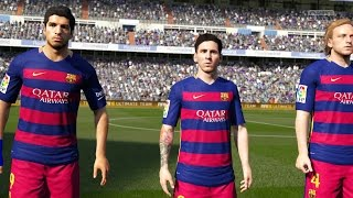 [PS4[  FIFA 16 - Real Madrid vs FC Barcelona | Full Demo Match (60fps 1080p)
