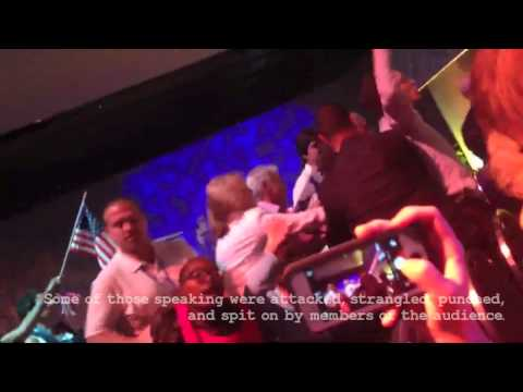 Protest at CUFI Conference