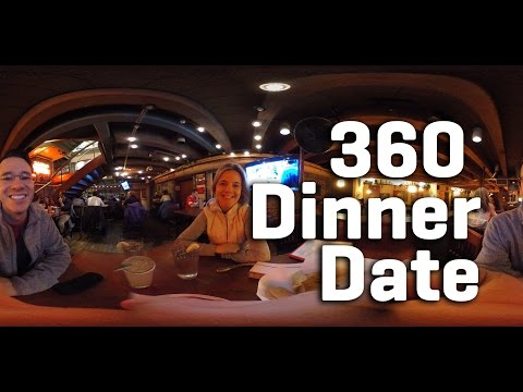360 Dinner Date in Boston - SPHERICAL VIDEO - INTERACTIVE