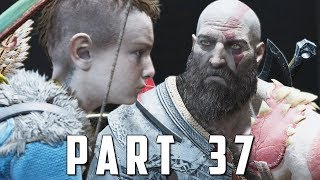 GOD OF WAR Walkthrough Gameplay Part 37 - BLACK RUNE (God of War 4)