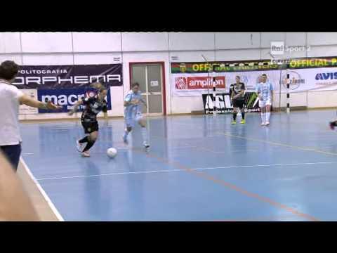 Calcio A 5 - Serie A Femminile 2014/15 - Play-Off - Fin. Gara 1 - Ternana Vs Lazio