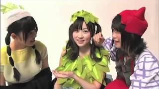 2011年6月22日 ...ピートに扮する横山由依、トマトに扮する前田敦子、ほ...