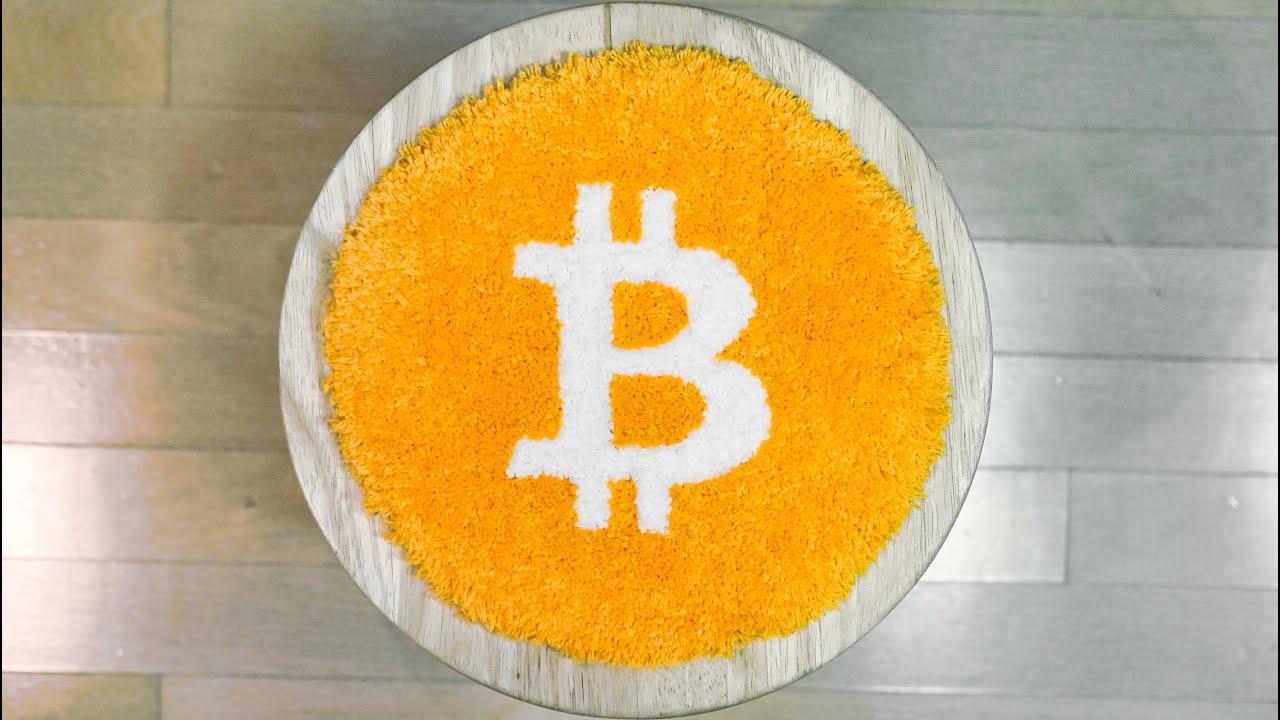 Tufting a Bitcoin Rug