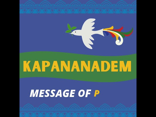 [MESSAGE OF PEACE] Army commanding general LtGen. Andres Centino
