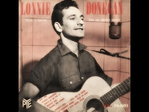 Lonnie Donegan's Skiffle Group - 1955 - Vocal & Guitar