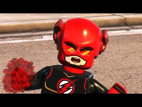LEGO DC SUPERVILLAINS - Red Lantern Flash!
