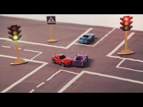 «Тебе водить». Проезд на запрещающий сигнал светофора (28.04.2017)
