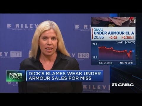 Under Armour under pressure, analyst explains sell rating