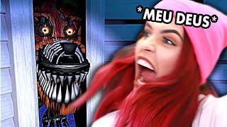 O FOXY NÃO ME DEIXA EM PAZ!!! (Five Nights at Freddy's 4)