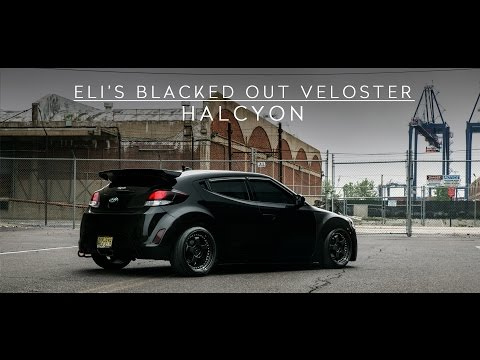 Eli s Blacked Out Veloster HALCYON