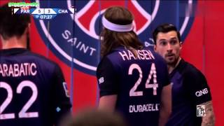 Paris SG VS Chambéry Handball LNH 2015 2016 5e journée