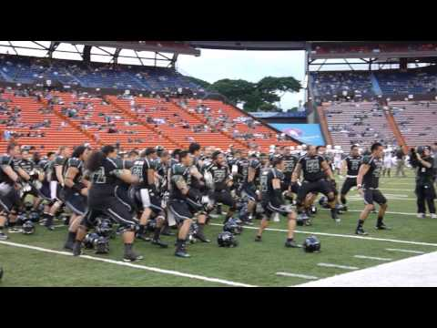University of Hawaii Warriors Haka ( Ha