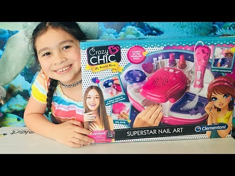 Crazy Chic Superstar Nail  Art  Unboxing