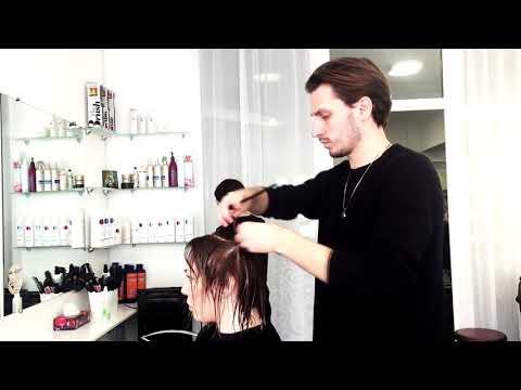 Базовый курс парикмахера. Занятие в ESTETIC Eucation