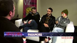 Paramore | Interview | Sessions with Steve Serrano